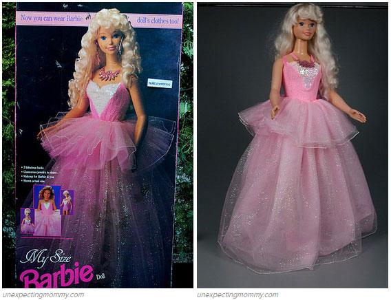 2- My Size Barbie