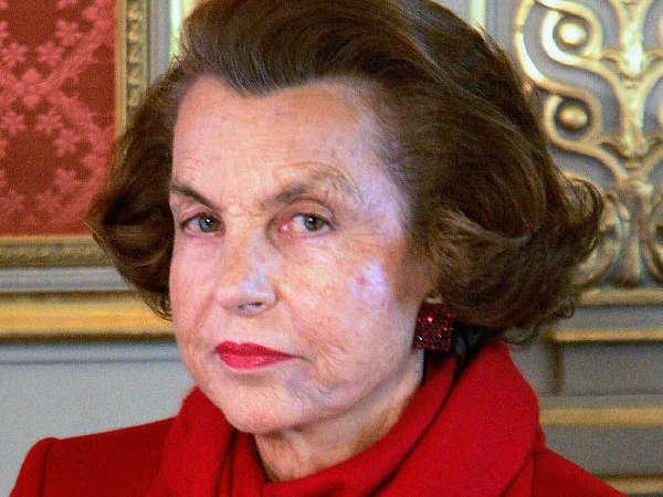 2. Lilliane Bettencourt. $ 34.5 Billones