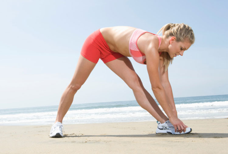 No calentar antes de hacer ejercicio