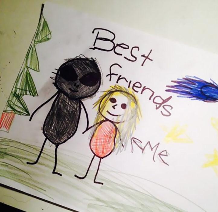 El mejor amigo de una pequeña