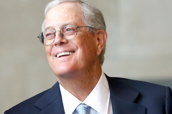 8. David Koch - Koch Industries