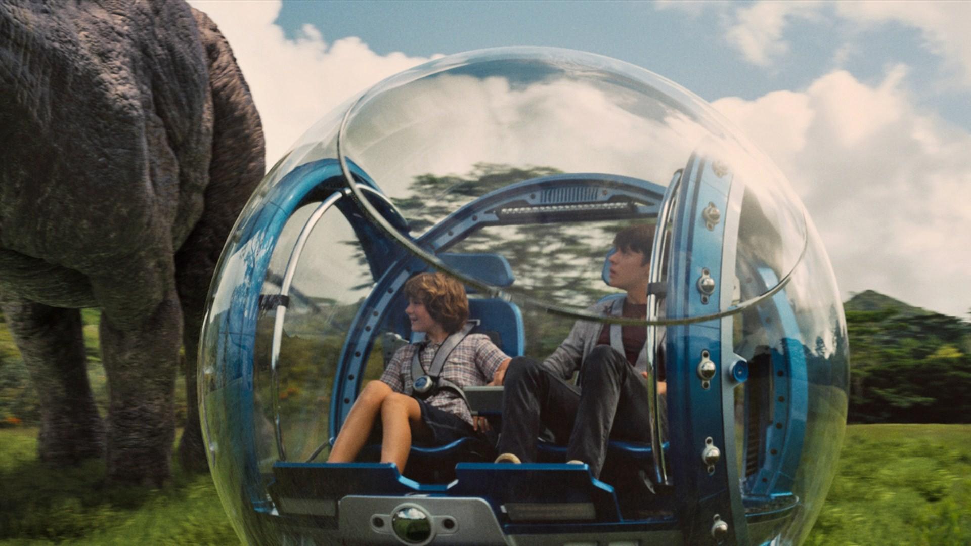 El Coche Burbuja - Jurassic Park