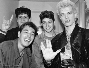 Los Beastie Boys junto a Billy Idol