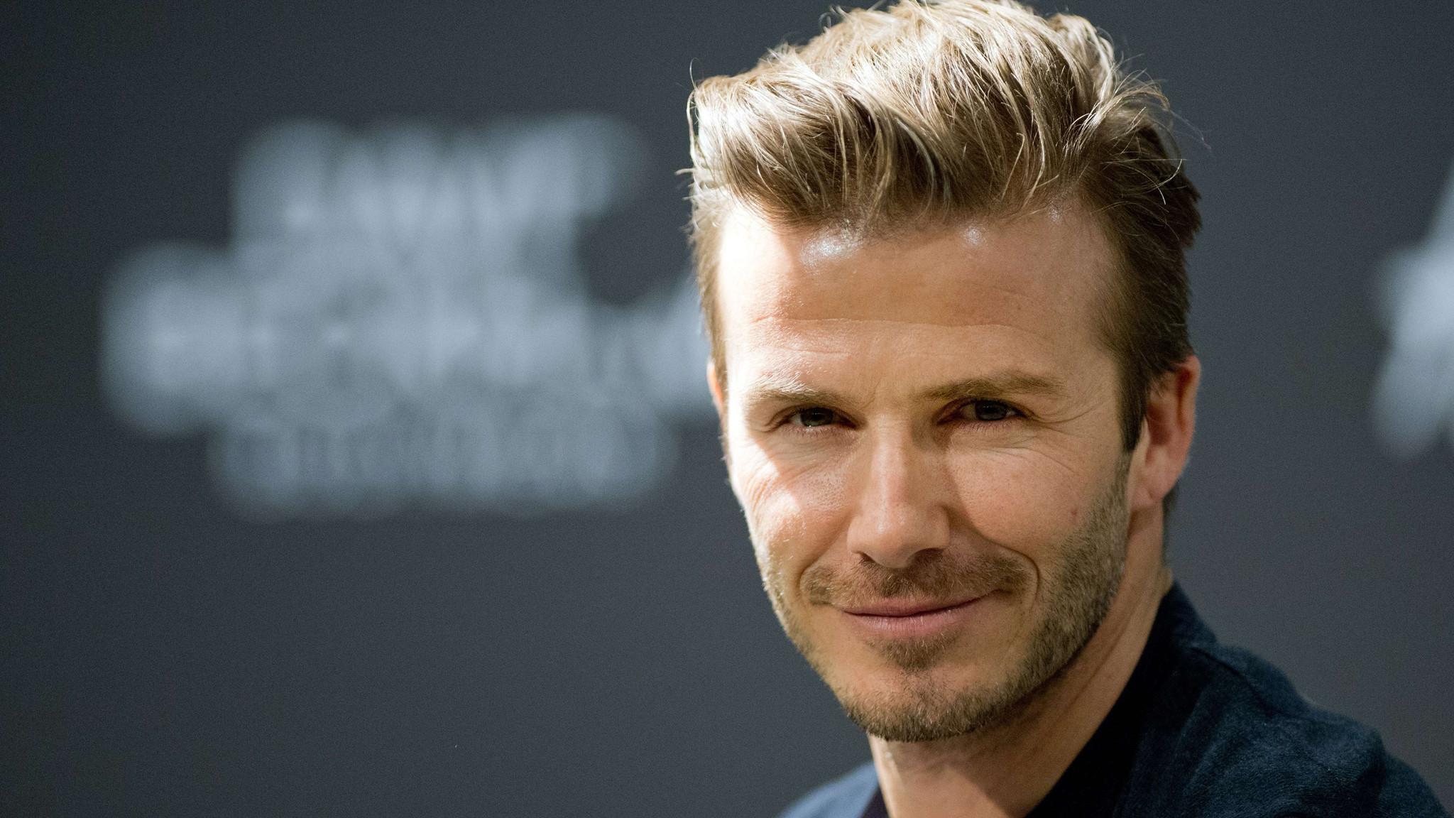 David Beckham aprendió a hablar español en el Real Madrid