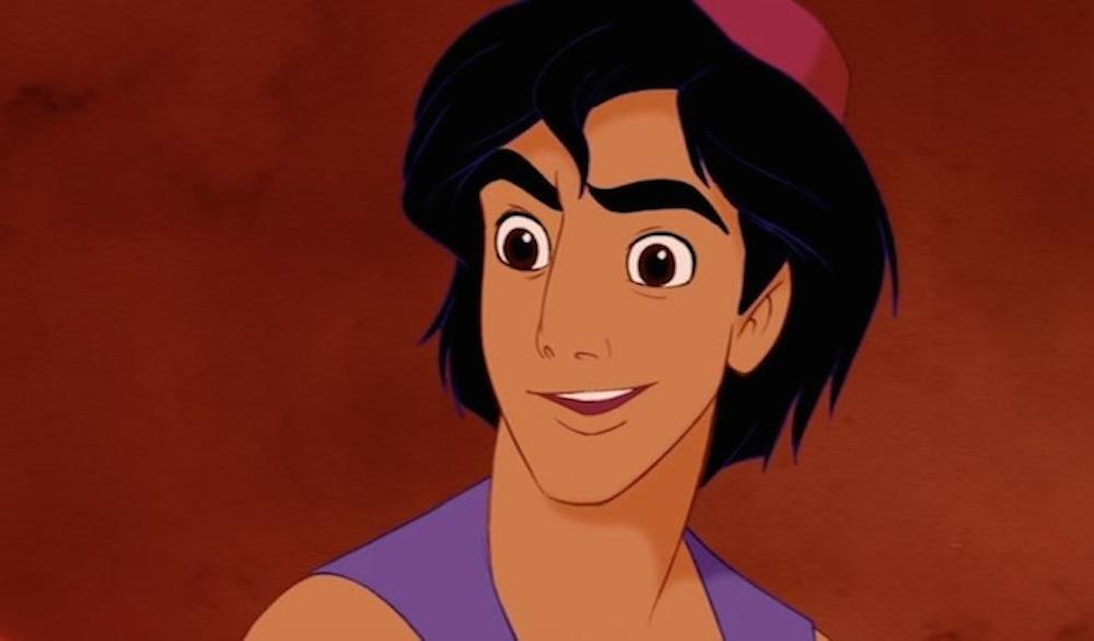 ¿Por qué Aladino está inspirado en Tom Cruise?