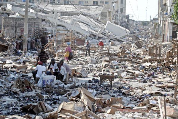 El terremoto de Haití